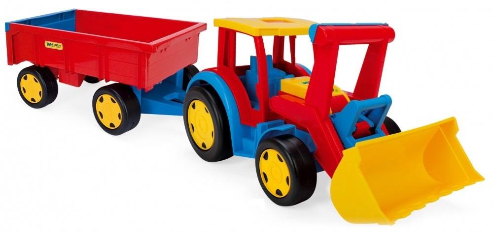 Wader Gigant Truck Трактор с прицепом и ковшом 66300