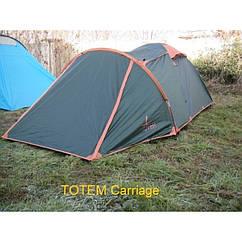 Намет Totem Carriage 3 м, TTT-016. Палатка туристическая 3 месная. Намет туристичний