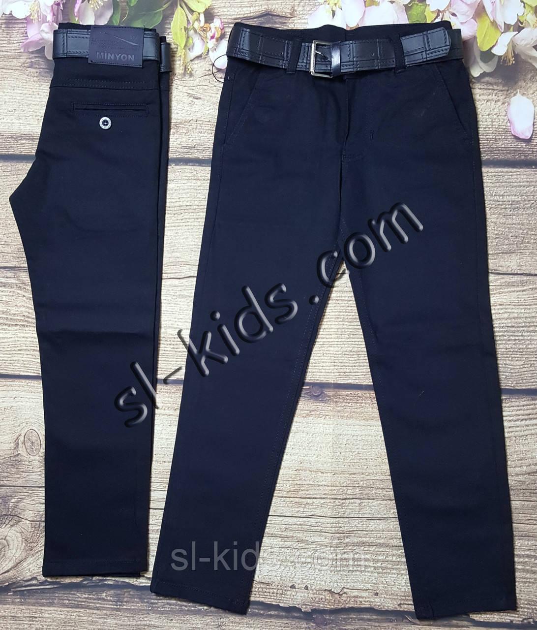 Школьные штаны,джинсы для мальчика 11-15 лет(темно синие) опт пр.Турция