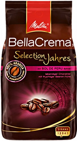 Кофе в зернах Melitta Bella Crema Selection Des Jahres