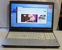 Ноутбук, notebook, Fujitsu E751, Core I3 2310m, 4 ядра по 3,2 ГГц, 4 Гб ОЗУ, HD 320 Гб