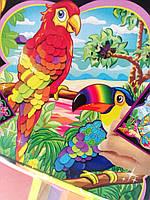 Волшебная аппликация Попугай. Набор для творчества WINX 3DF-EP100