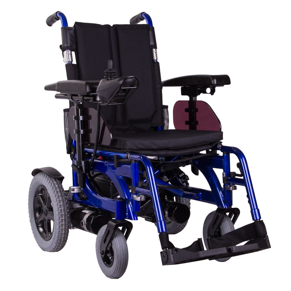 Коляска инвалидная с электроприводом складная PCC