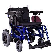 Коляска инвалидная с электроприводом складная PCC, фото 2