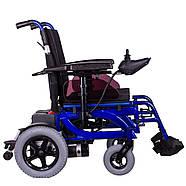 Коляска инвалидная с электроприводом складная PCC, фото 3