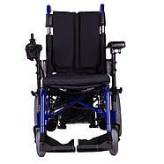 Коляска инвалидная с электроприводом складная PCC, фото 4