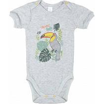 Боди-футболка Верес Tropic baby трансферная рибана  62 серый
