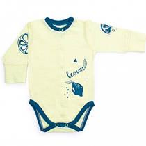 Боди для новорожденных Верес Lemon Doggy кулир лимонный