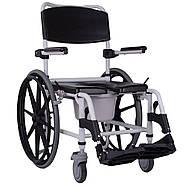 Кресло-каталка с санитарным оснащением Swinger, фото 3