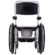 Кресло-каталка с санитарным оснащением Swinger, фото 5