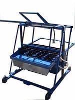 Виброверстат Команч. Оборудование для изготовления шлакоблоков