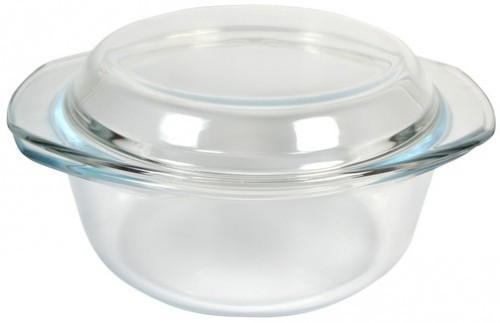 Кастрюля стеклянная круглая V= 1500мл (Empire Эмпаир Емпаєр) EM-1864
