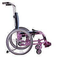 Активная инвалидная коляска для детей OSD ADJ Kids, розовая, фото 3