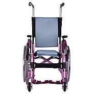Активная инвалидная коляска для детей OSD ADJ Kids, розовая, фото 4