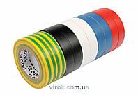 Набор лент изоляционных YATO 19 мм х 20 м 10 шт