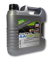 LIQUI MOLY SPECIAL TEC AA 0W-20 4л - моторное масло
