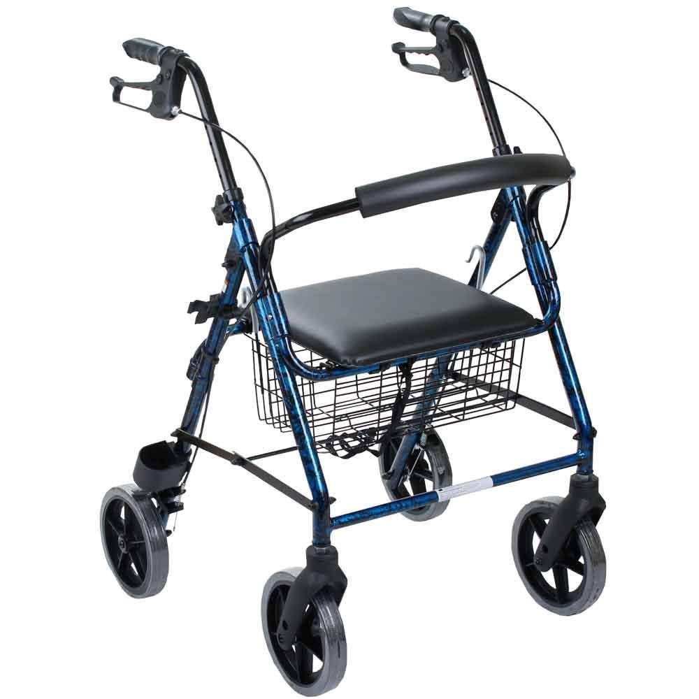 Алюминиевый роллер с большими колесами