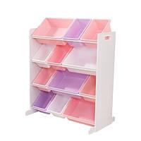 Стеллаж с 12 ящиками для хранения игрушек Kidkraft США (15450)