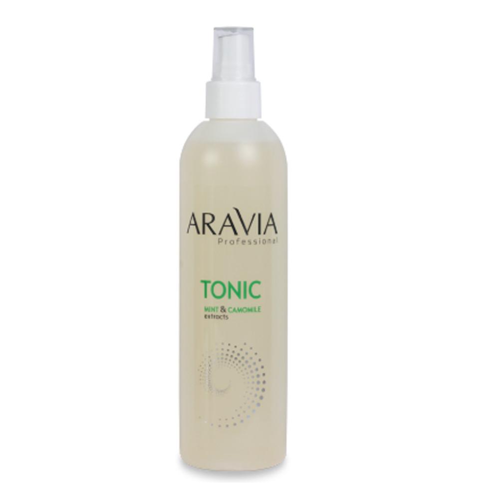 Тоник для кожи Aravia Professional с мятой и ромашкой 300 мл