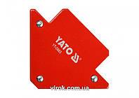 Струбцина магнитная YATO для сварки 82 х 120 х 13 мм 11.5 кг