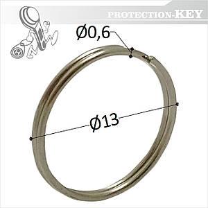 Кольцо заводное Ø 13 х 0,6 мм (круглое)