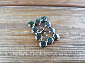 Пряжка 018110 23мм цвет никель
