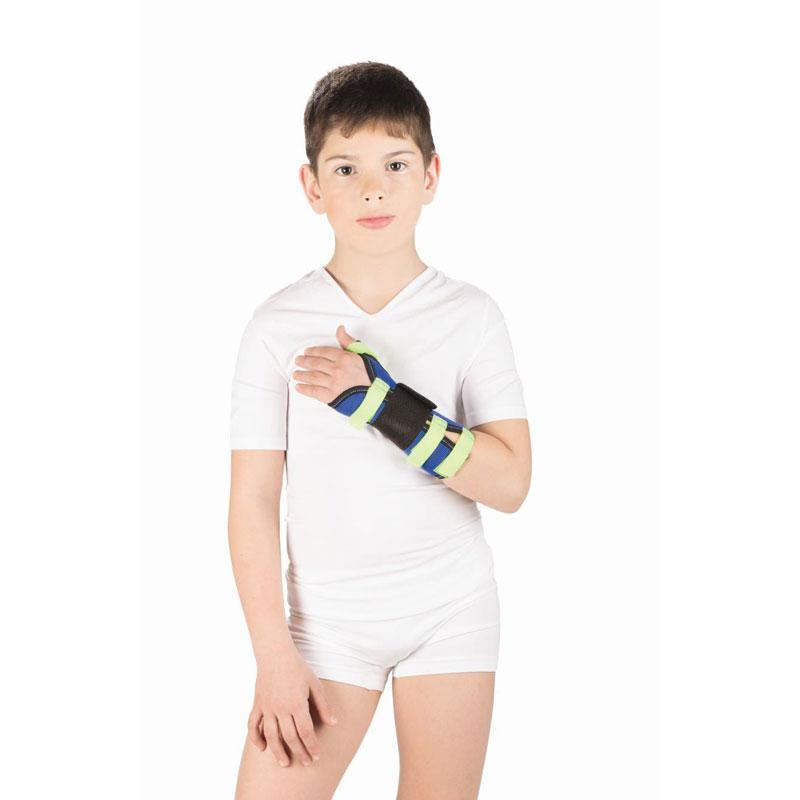 Бандаж на лучезапястный сустав с фиксацией большого пальца руки Тривес детский, T-8307D/ T-8330