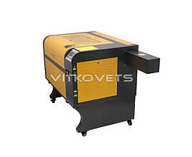 Профессиональный лазерный СО2 станок LM6040, 60W, RuiDa 6442, фото 3