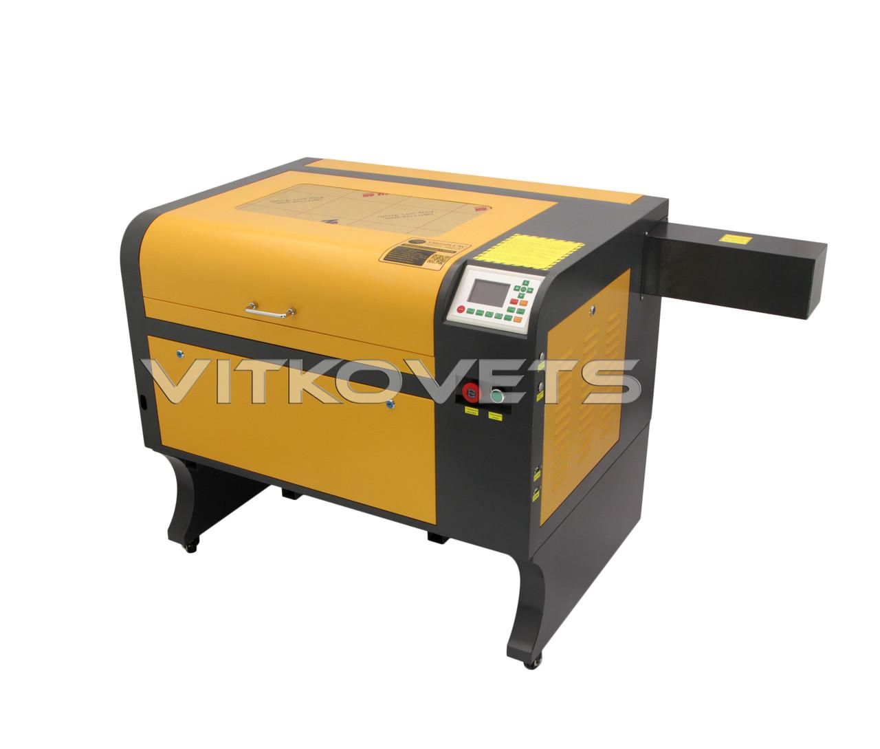 Профессиональный лазерный СО2 станок LM6040, 60W, RuiDa 6442