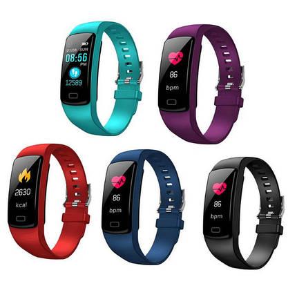 Фитнес браслет Y9 водостойкий и удобный браслет для спорта умные часы, фото 2