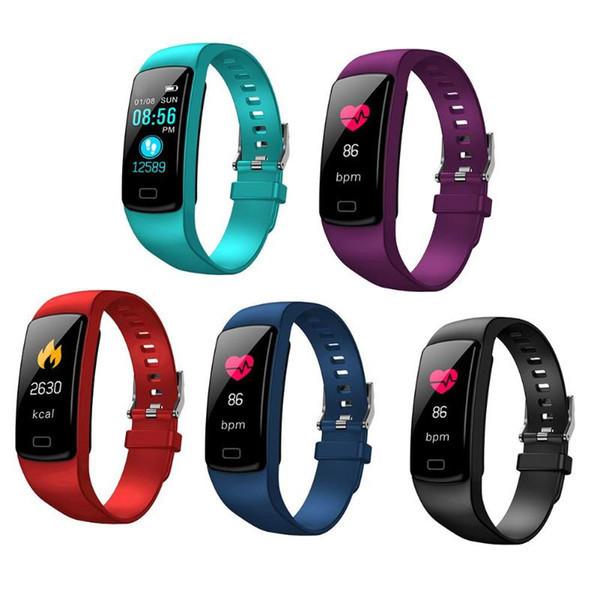 Фитнес браслет Y9 водостойкий и удобный браслет для спорта умные часы