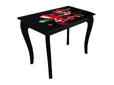 Стол обеденный со стеклянной столешницей ДКС Классик Антоник, цвет на выбор, фото 3