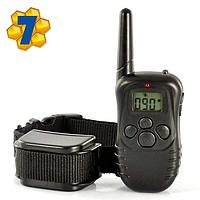Электронный Ошейник для дрессировки и коррекции поведения собак, дальность до 300 метров Модель: 998-D