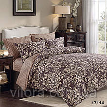 Двуспальное постельное белье Вилюта 17114 ранфорс