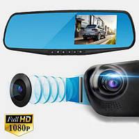 Зеркало с видеорегистратором и камерой заднего вида DVR 568D, фото 1