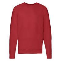 Мужская кофта лёгкая, свитер, реглан Красный 62-138-40 XL