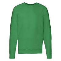 Мужская кофта лёгкая, свитер, реглан Ярко-Зеленый 62-138-47 XL