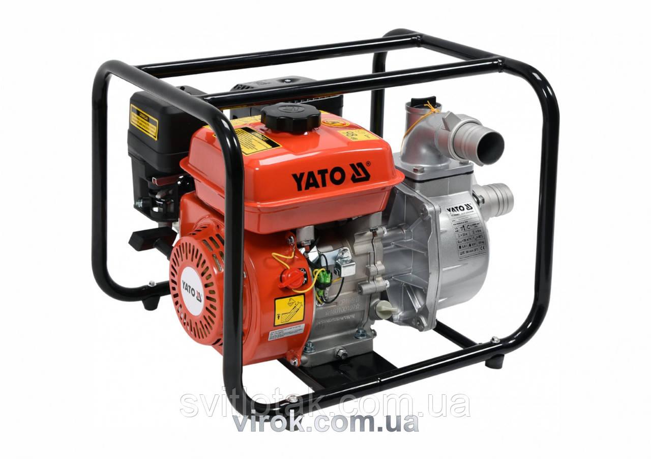 """Мотопомпа YATO 2"""" 5,9 к.с. 36м³/год"""