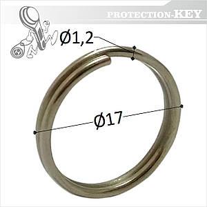 Кольцо заводное Ø 17 х 1,2 мм (круглое)