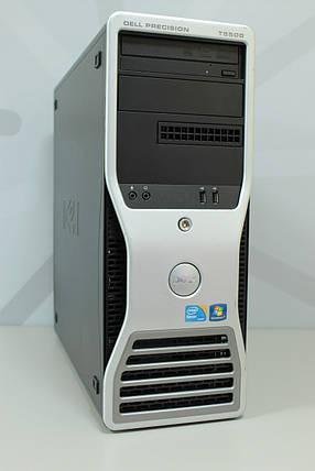 Рабочая станция DELL T5500/8(16) ядер 2,26GHz/12Gb-DDR3/HDD 500Gb + SSD 120Gb/Quadro 2000 1Gb, фото 2