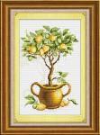 """""""Лимонное дерево"""" LasKo. Наборы для рисования камнями (на холсте)."""