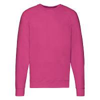 Мужская кофта лёгкая, свитер, реглан Малиновый 62-138-57 L