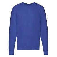 Мужская кофта лёгкая, свитер, реглан Ярко-Синий 62-138-51 XL