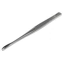 Долото жолобкуватое изогнутое с рифленой ручкой по Partsch. Длина 13,5 см, диаметр 4 мм