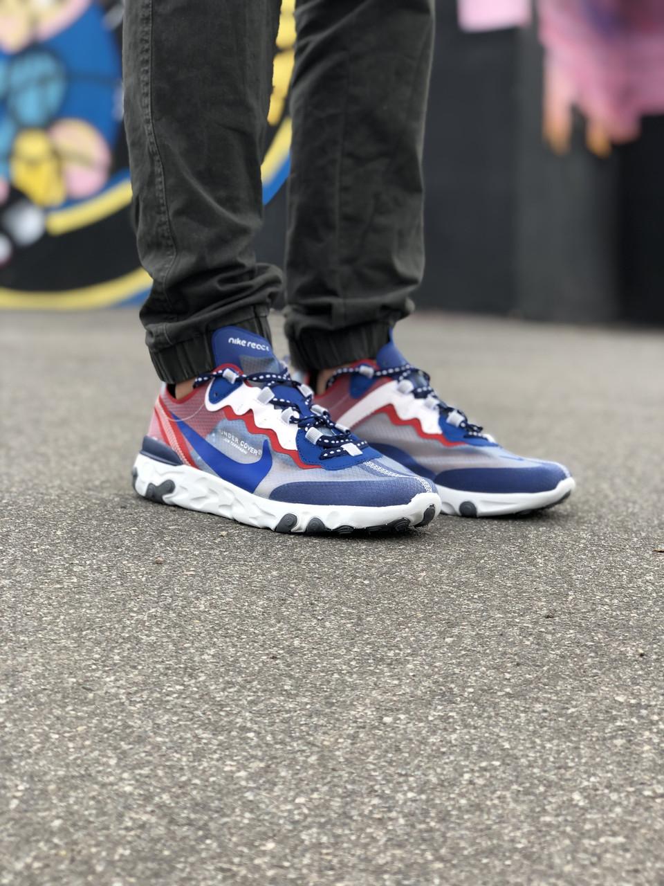 Кроссовки Nike Undercover Красные-Синие