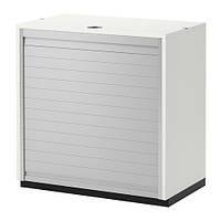 GALANT    Шкаф с дверью-шторой, белый