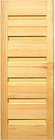 Двері дерев'яні міжкімнатні сосна BONA 1.1