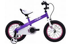 """Велосипед RoyalBaby HONEY 14"""", фиолетовый"""