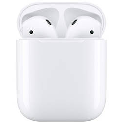 Наушники Apple Airpods 2 with Charging Case White (MV7N2)
