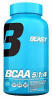 BCAA аминокислоты Beast Sports Nutrition BCAA 5:1:4 (240 капс)